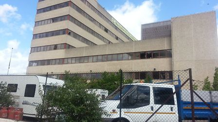 The group are believed to be the same ones that were staying at the former Fujitsu building on King'