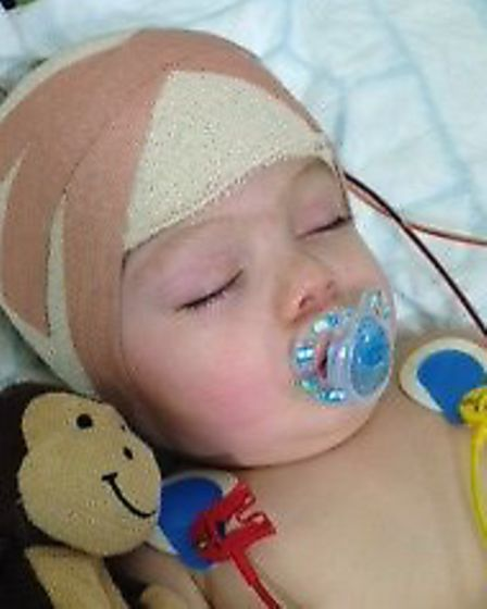 Charlie at Great Ormond Street Hospital