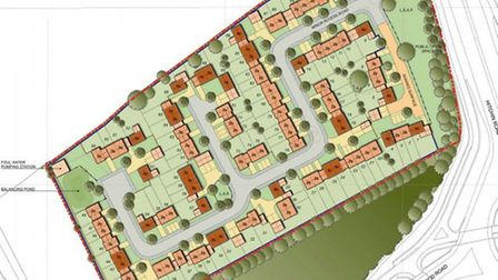 SBC approved plans to build up to 95 homes on the Longfield site