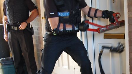 Police carried out dawn raids across Comet country in a bid to crack down on drugs, thefts and burgl