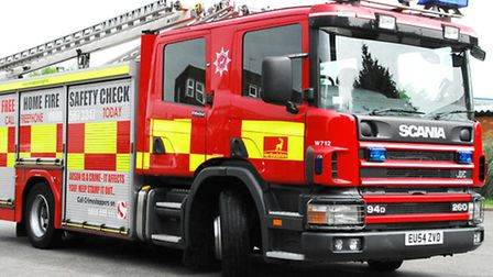 Firefighters were called to Whitwell this afternoon
