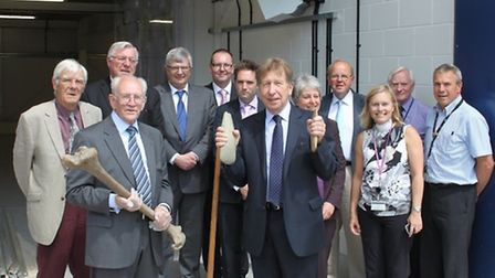The new museum store at Shire Hill was officially opened this morning by Uttlesford District Council