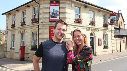 Brother and sister Dionne and Sam McCreery have relaunched The Railway pub, in Station Road, Saffron