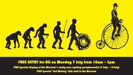 Saffron Walden museum is opening up on the day of the Tour de France's arrival to unveil rare cyclin