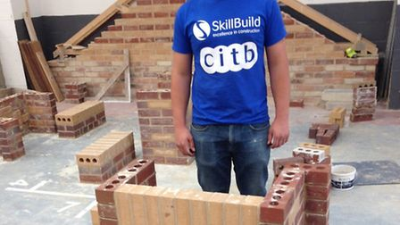 Eighteen-year-old bricklayer Shaun Bartram.