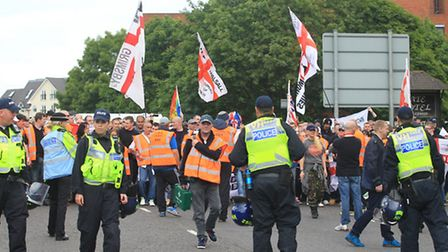 The police have been criticised for a lack of communication ahead of Saturday's EDL march