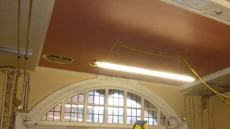 Work that has been carried out at Hitchin Town Hall