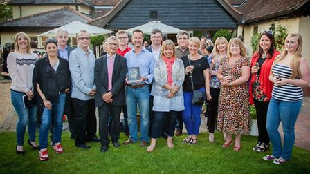 The launch of The Global Gourmet at Great Chesterford. Pictures: Joe Higham