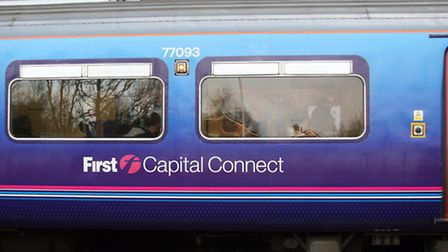 A broken down train at Royston is causing delays to services