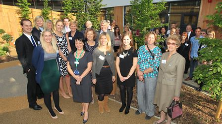 Staff and supporters of Lister Hospital