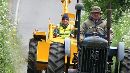 A vintage tractor rally raised £3,000 for charity.
