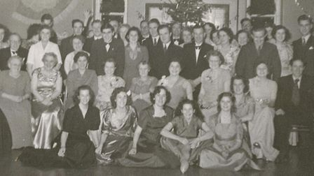 The Christmas Dance in 1949 when it was still an Isolation Hospital.
