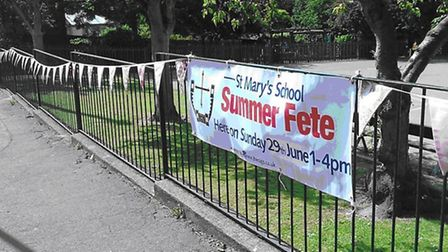 St Mary's Primary School in Saffron Walden is holding a 'Swinging 60s' fete this Sunday.
