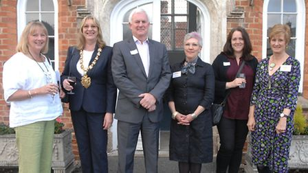A range of dignitaries and representatives from voluntary organisations turned out for the launch of