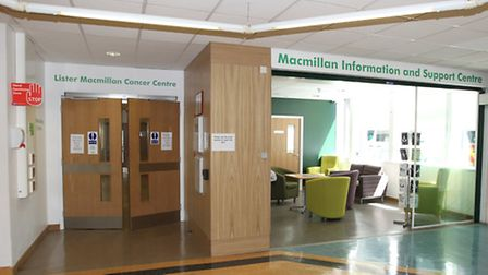The new Macmillan Cancer Centre and Information and Support Centre in the Lister hospital