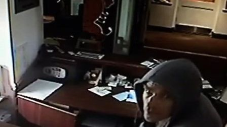 Police have released CCTV footage in connection with a theft at a hotel in Great Dunmow.