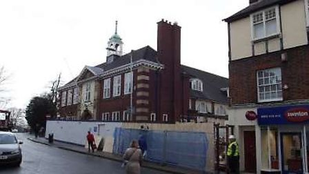 More money has been set aside for the refurbishment work of Hitchin Town Hall