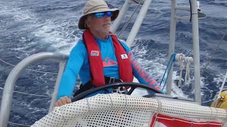 The 60-year-old said the voyage was a transition from adulthood to retirement.