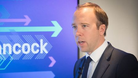 Health Secretary Matt Hancock said that no-deal Brexit was not viable during the Tory leadership con