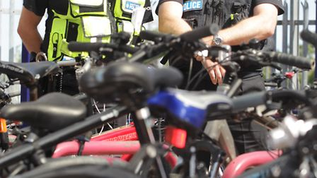 Herts police are advising people to be more vigilant with their bikes