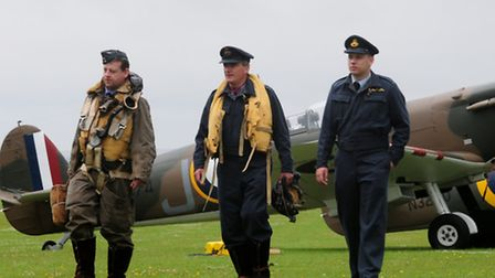 Thousands of people enjoyed the world famous Flying Legends Air Show at the Imperial War Museum Duxf