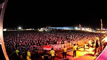 Sonisphere Festival 2014 in Knebworth will host The Prodigy on the main stage tonight [Picture: PG B