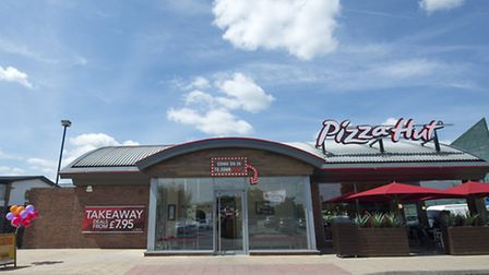 The newly refurbished Pizza Hut at Stevenage Leisure Park