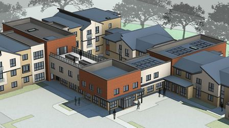 How the new Letchworth care home will look.