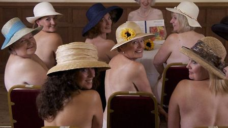 The Clavering Players put on a performance of Calendar Girls last year.