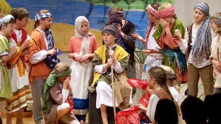 Year 6 pupils at Dame Bradbury's School in Saffron Walden performed their version of Joseph and the