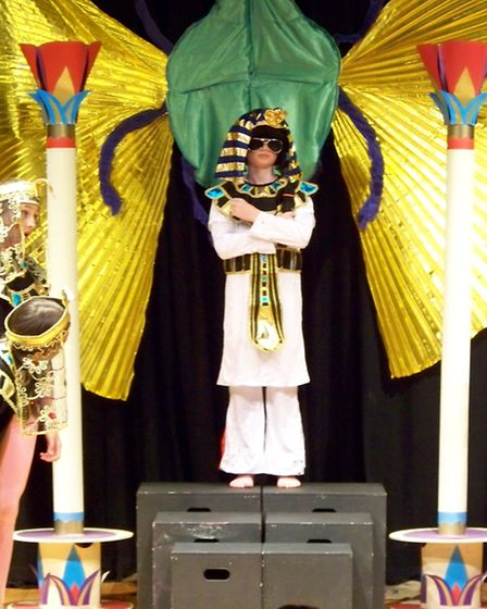 There was even an Elvis Presley-style Pharaoh!