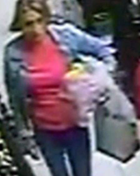Police want to speak to this woman in connection with the thefts