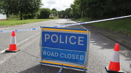 A man has died following a crash in Baldock. Police have since reopened the road.