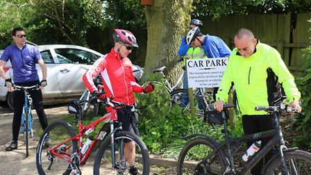 The Saffron Walden streetlife cycling group.