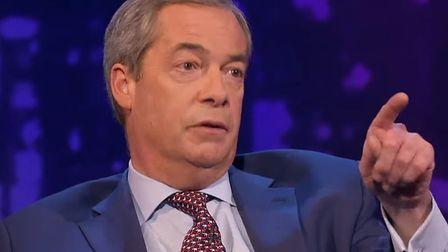 Nigel Farage recently claimed you'd struggle to find anything racist about him. Photograph: ITV.