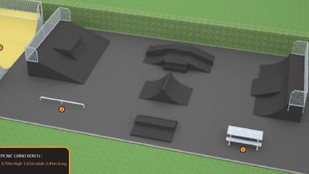 A contractor has been appointed to refurbish the skate park