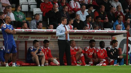 Stevenage boss Graham Westley is hoping home fans can spur his side to three points on Saturday