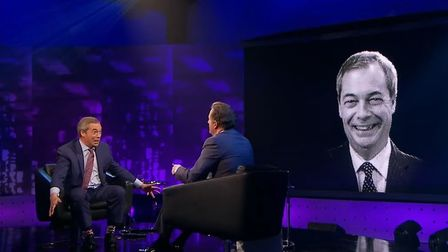 Nigel Farage appears on Piers Morgan's Life Stories. Photograph: ITV.