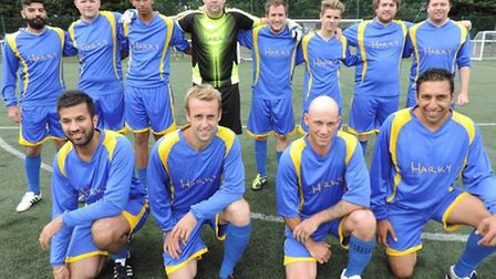 Glenn Pearce's team lost out on penalties after a 5-5 thriller in at North Herts Arena. Lewis Blenki