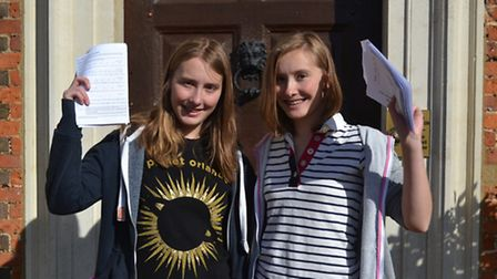 Comet GCSE results: Princess Helena College students Verity and Rachel Bruce achieved 22 A*-A grades