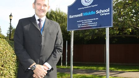 Barnwell headteacher Tony Fitzpatrick said he is delighted with the school's results