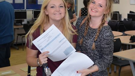 John Henry Newman's Ellie Alderton, who will be studying retailing, marketing and management at Loug