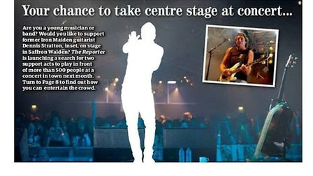 Would you like to play in front of hundreds of people at a gig in Saffron Walden?