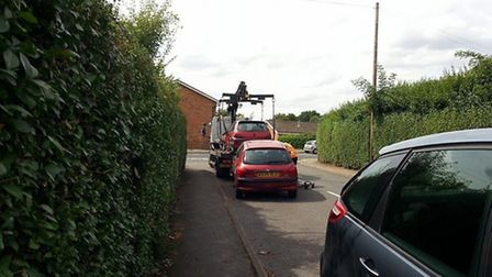 The DVLA carried out a crackdown on unroadworthy vehicles in Arlesey yesterday, Thursday