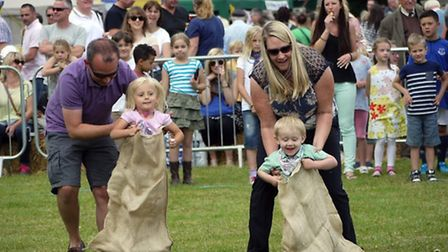 There was plenty of family fun at The Countess of Warwick Country Show.