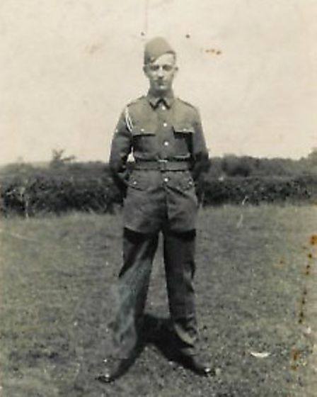 Andy's grandfather Walter Newberry
