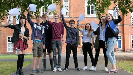 """Students at Friends' School in Saffron Walden received good news this morning after picking up a """"su"""