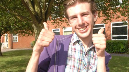 Jack got A*, A and B in his A-levels.