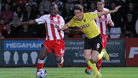 Roarie Deacon takes on Keith Andrews