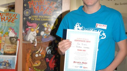 Joe Sivell is helping other volunteers to teach children how to read